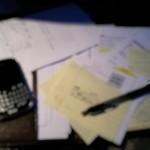 Getting organized? Really?!
